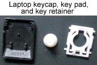 структура на бутон за клавиатура на лаптоп