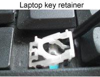 laptop key retainer